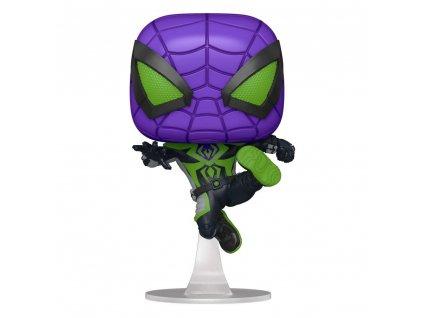 Spider man funko figurka Miles Morales Purple Suit (1)