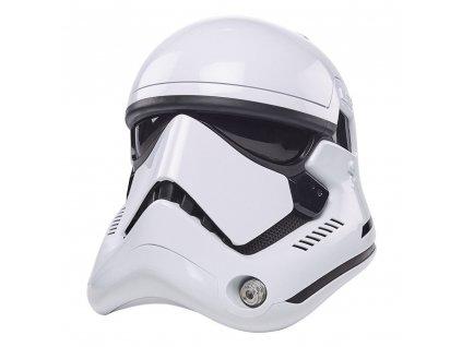 Star Wars Episode VIII Black Series elektronická helma First Order Stormtrooper (1)