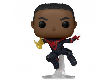 Chase Legendary Edition Spider man funko figurka Miles Morales Classic Suit (1)