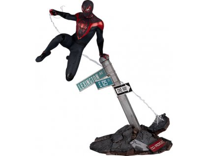 Marvel's Spider Man Miles Morales soška Spider Man Miles Morales (1)