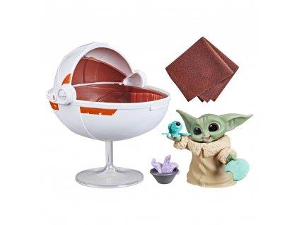 Star Wars Mandalorian Bounty Collection figurka Grogu's Hover Pram (1)