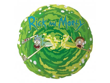 Rick and Morty polštář Logo