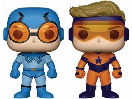 DC Super Heroes funko figurky Blue Beetle & Booster Gold (1)
