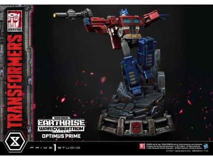 Transformers War of Cybertron Trilogy socha Optimus Prime (1)