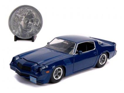 Stranger Things model Billy's 1979 Chevy Camaro Z28 + sběratelská mince (1)