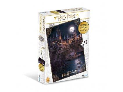 Puzzle Harry Potter - Bradavice, 1000 dílků