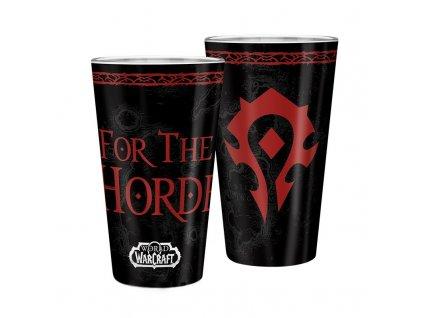 Sklenice World of Warcraft - Horda