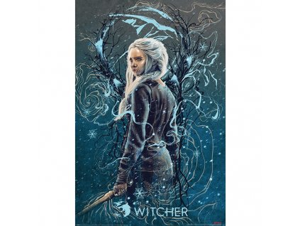 The Witcher - plakát - Vlaštovka Ciri (Netflix)