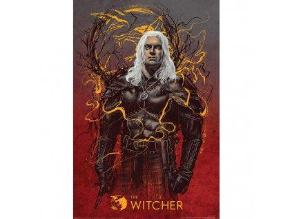 The Witcher - plakát - Vlk Geralt (Netflix)