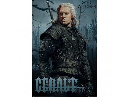 The Witcher - plakát - Geralt z Rivie (Netflix)