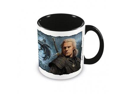 The Witcher - hrnek - Geralt a Yennefer (Netflix)