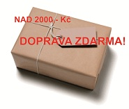 Doprava zdarma od 2000,-kč