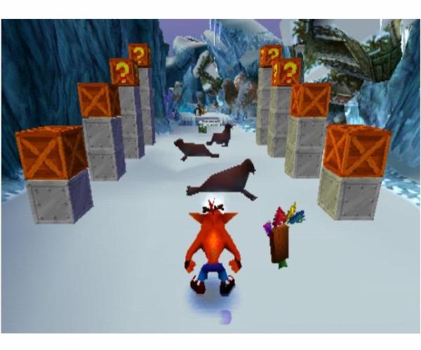 PS1 Crash Bandicoot 2 cortex strikes back