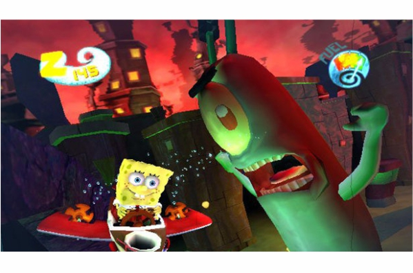 Wii SpongeBob SquarePants: Creature from the Krusty Krab