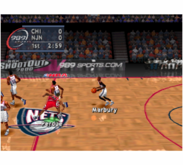 PS1 Total NBA 98