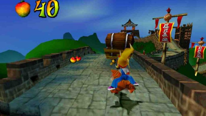PS1 Crash Bandicoot 3 Warped