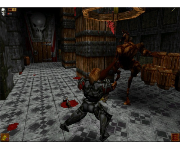PS1 Deathtrap Dungeon