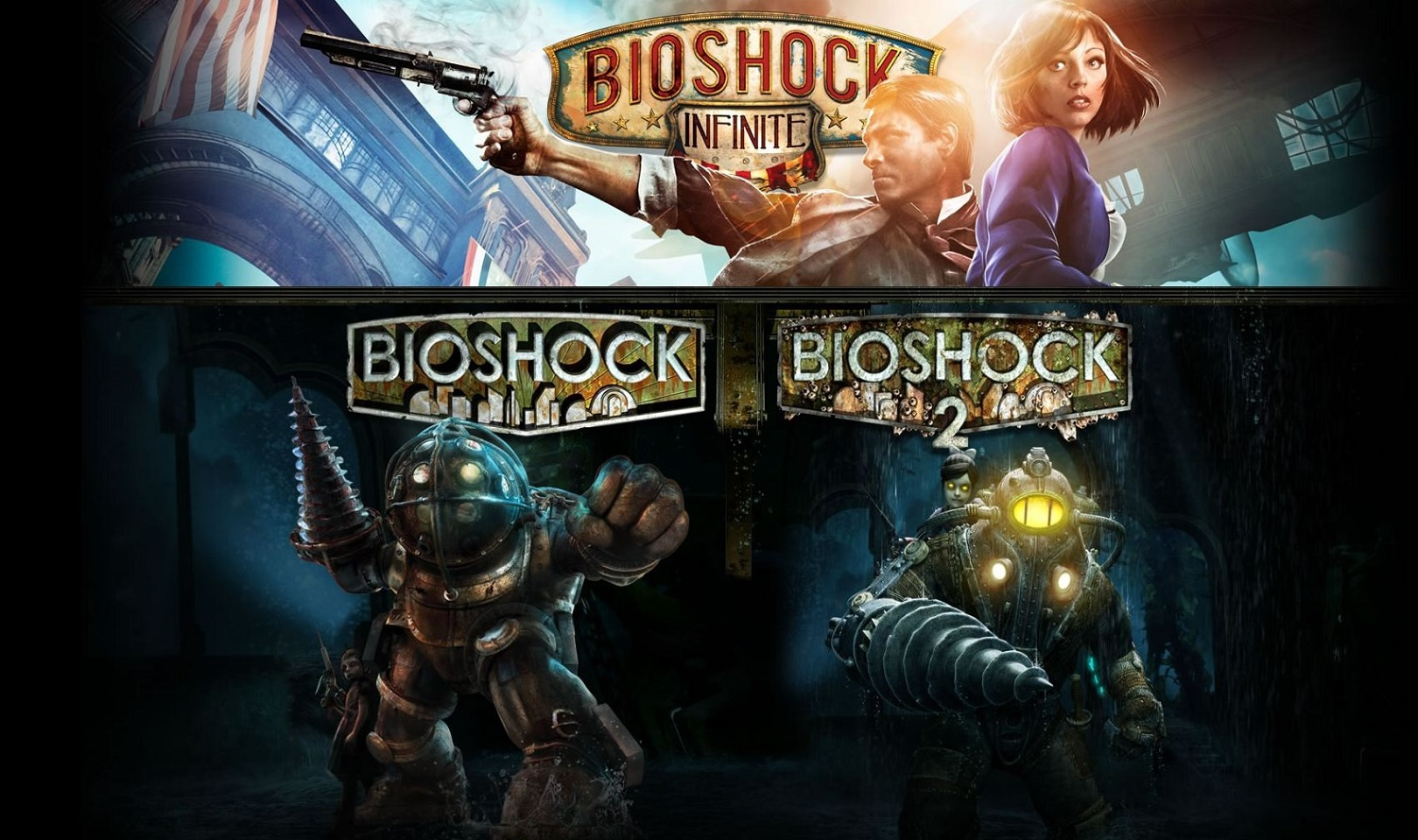 PS4 Bioshock Collection