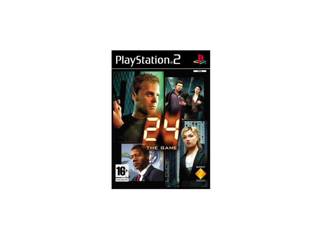 PS2 24 the game