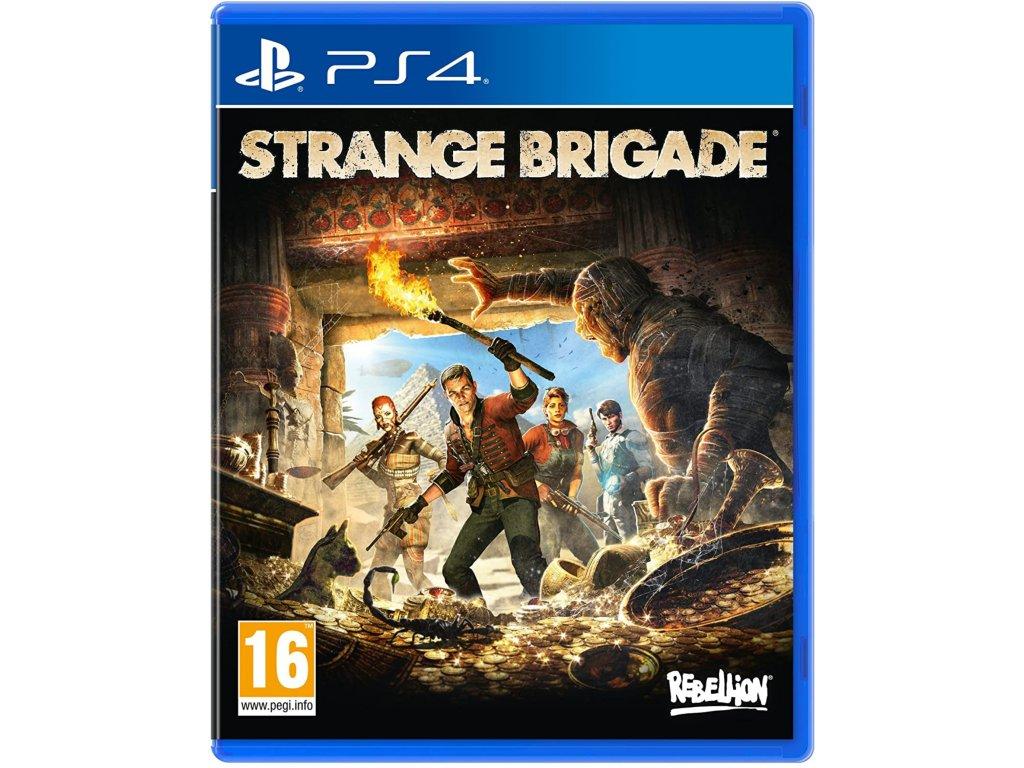 PS4 Strange Brigade