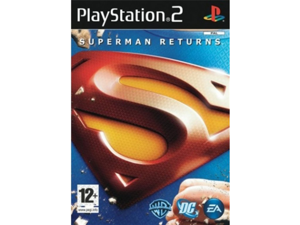 PS2 Superman Returns