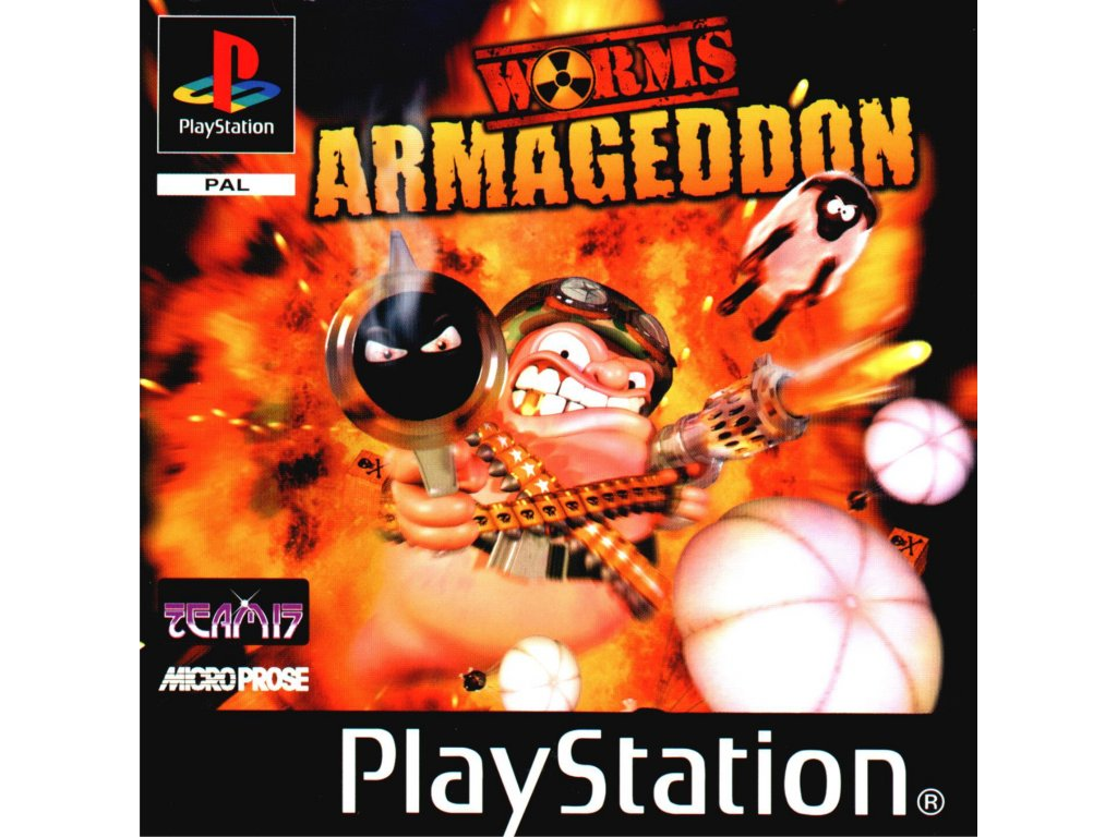 PS1 Worms Armageddon