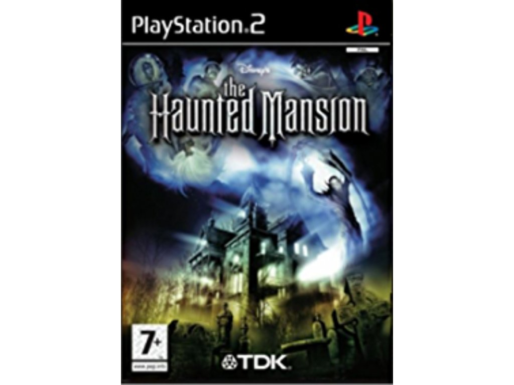PS2 Disney The Haunted Mansion