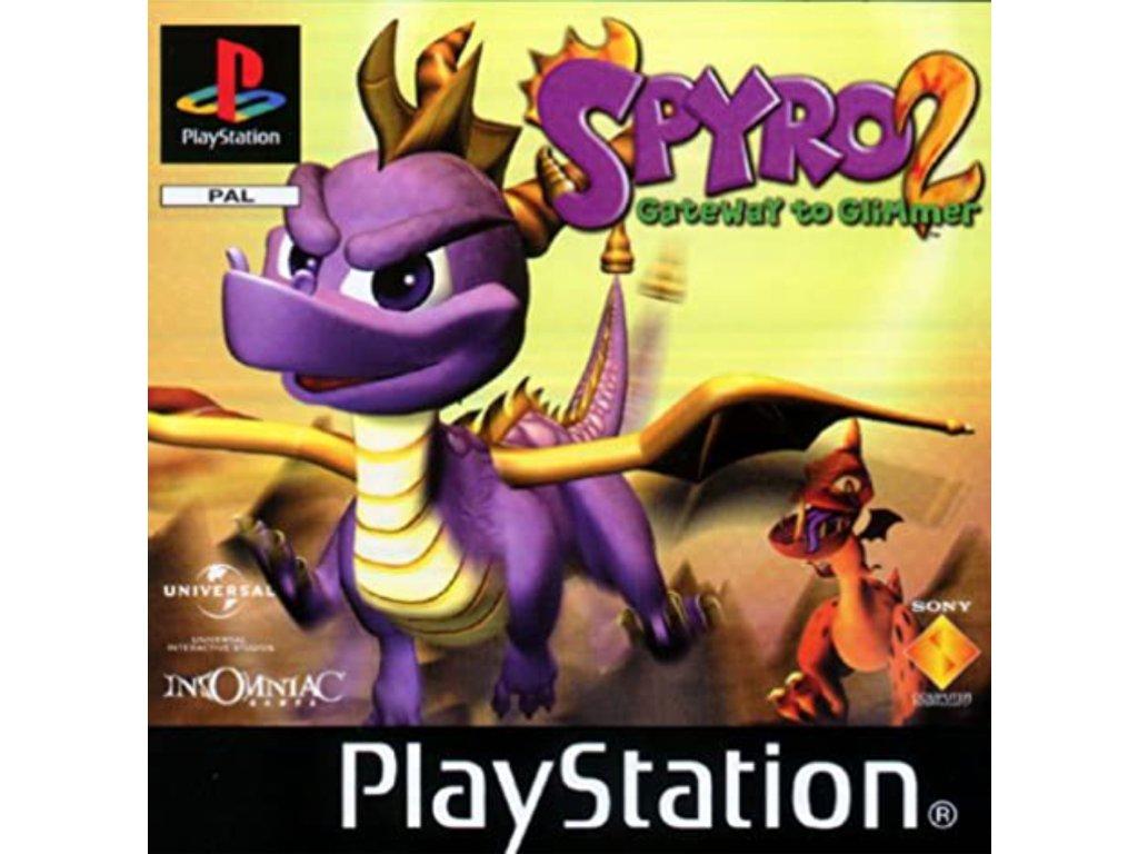 PS1 Spyro 2 Gateway to Glimmer