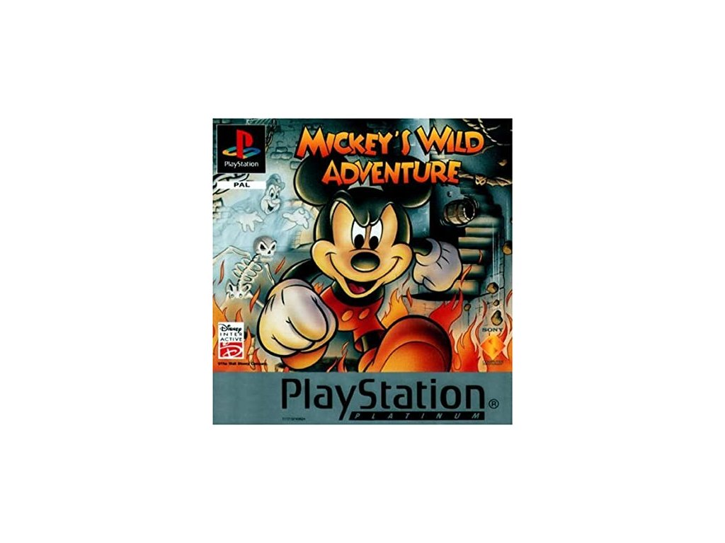 PS1 Mickey's Wild Adventure platinum