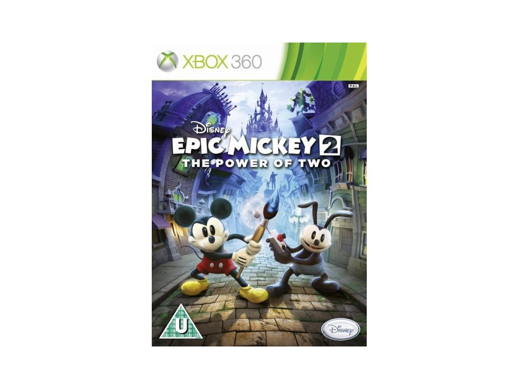 XBOX 360 Epic Mickey 2 : The Power of Two