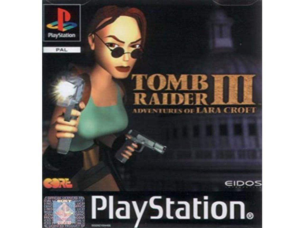 PS1 Tomb Raider III