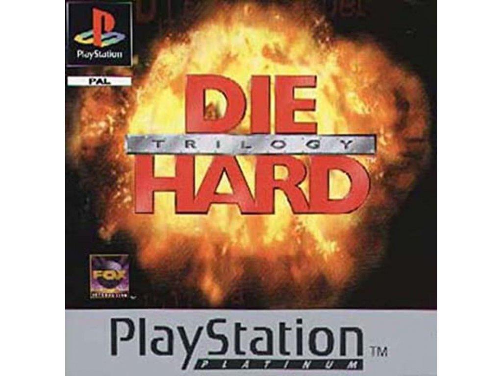 PS1 Die Hard Trilogy platinum
