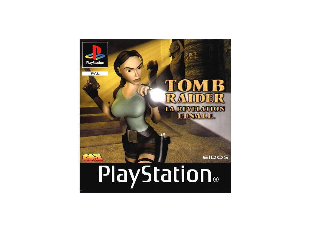PS1 Tomb Raider: The Last Revelation