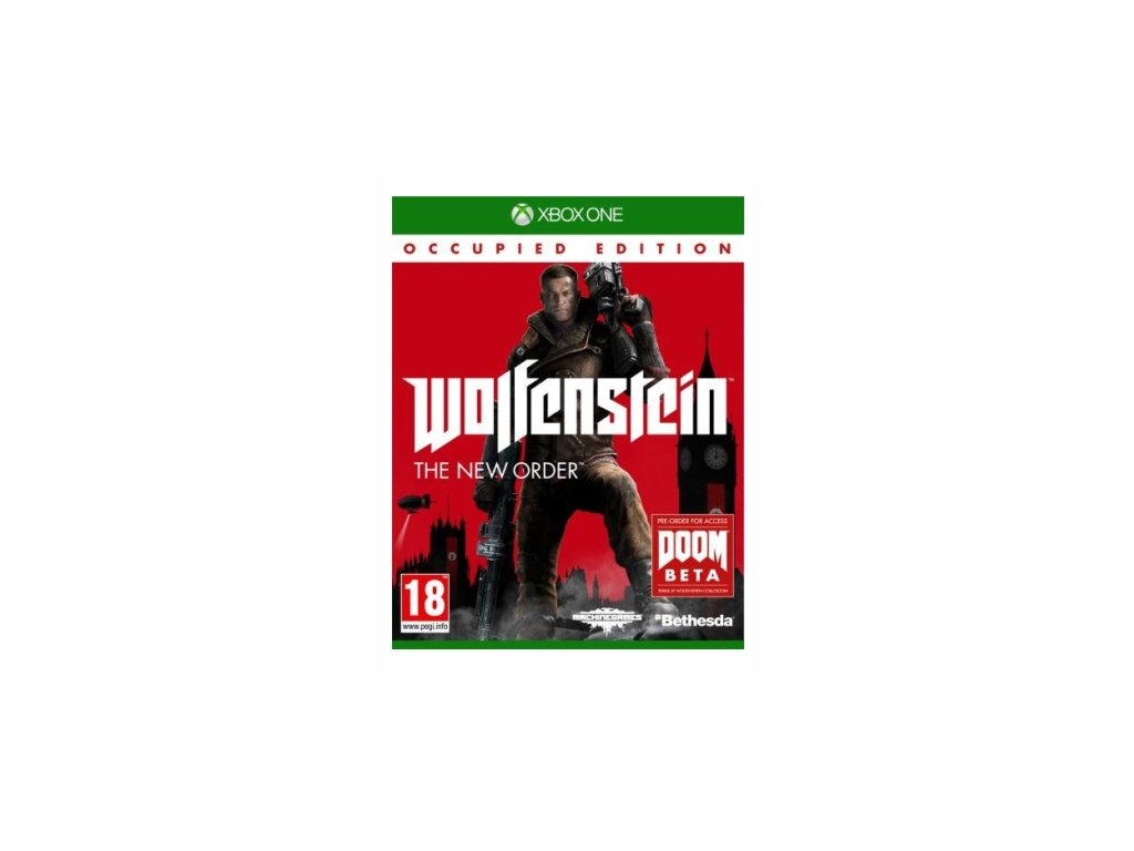 XBOX ONE Wolfenstein The New Order Occupied Edition
