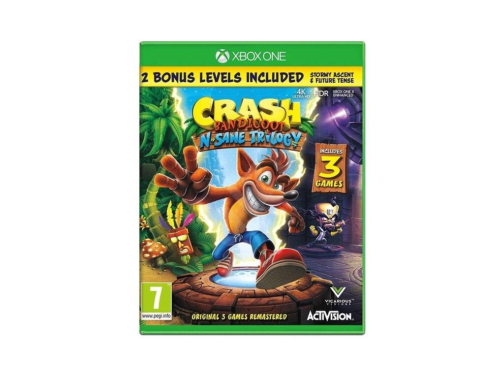 XBOX ONE Crash Bandicoot N. Sane Trilogy