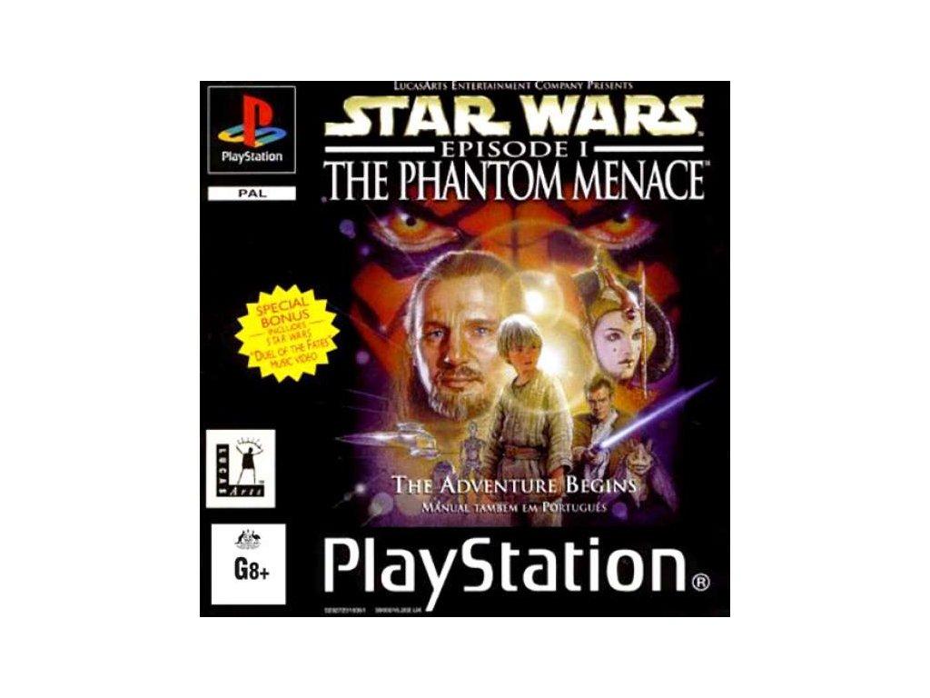 PS1 Star Wars: Episode I – The Phantom Menace