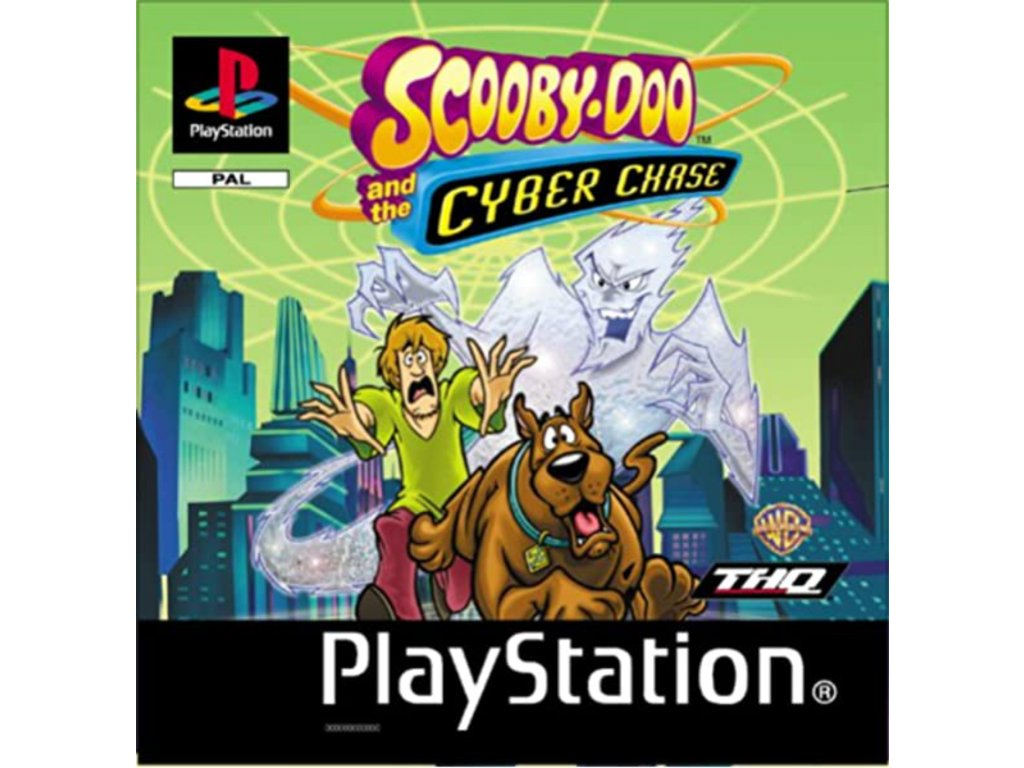 PS1 Scooby Doo and the Cyber Chase