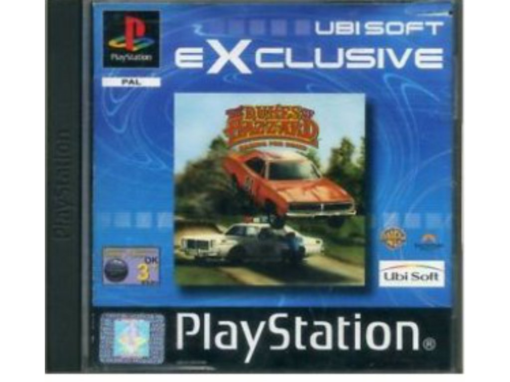 PS1 Dukes of Hazzard Racing for Home