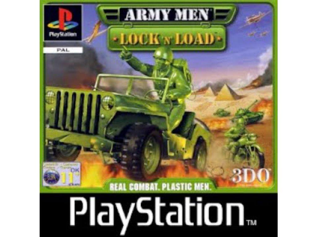 PS1 Army Men - Lock 'N' Load