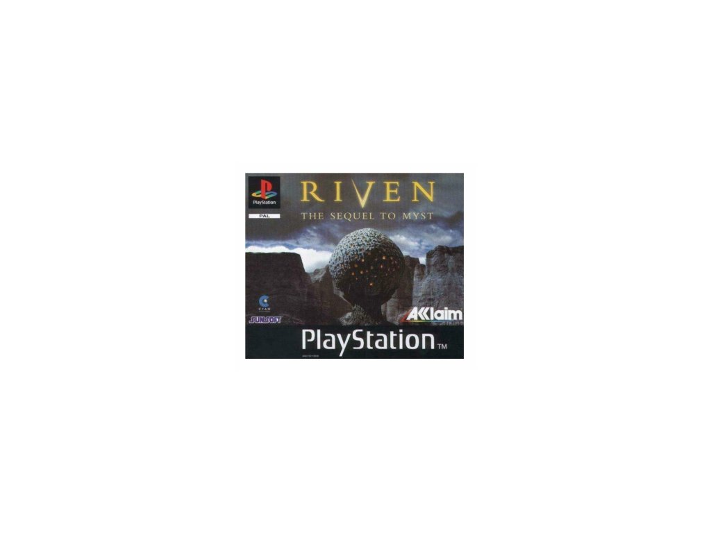 PS1 RIVEN THE SEQUEL TO THE MYST