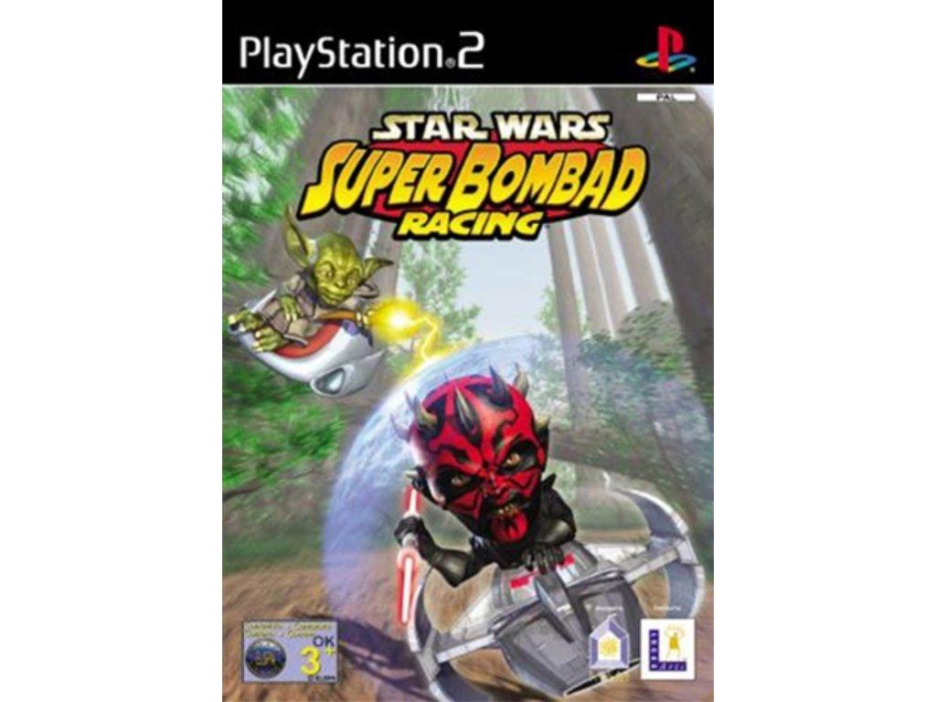PS2 Star Wars Super Bombad Racing