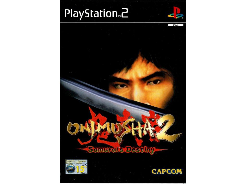 PS2 Onimusha2 Samurai's Destiny