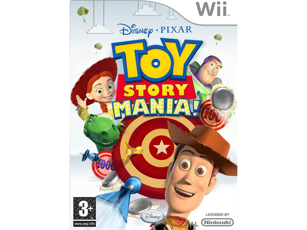 Wii Toy Story Mania