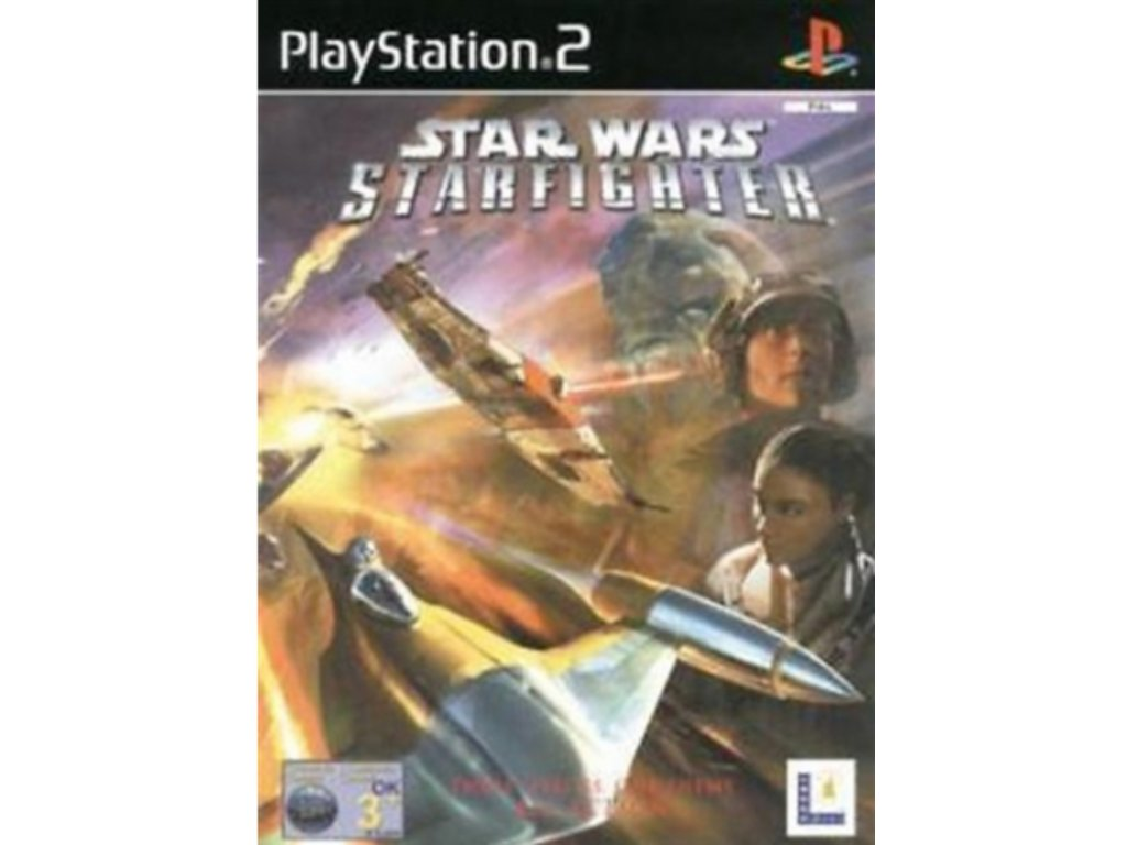 PS2 Star Wars Starfighter