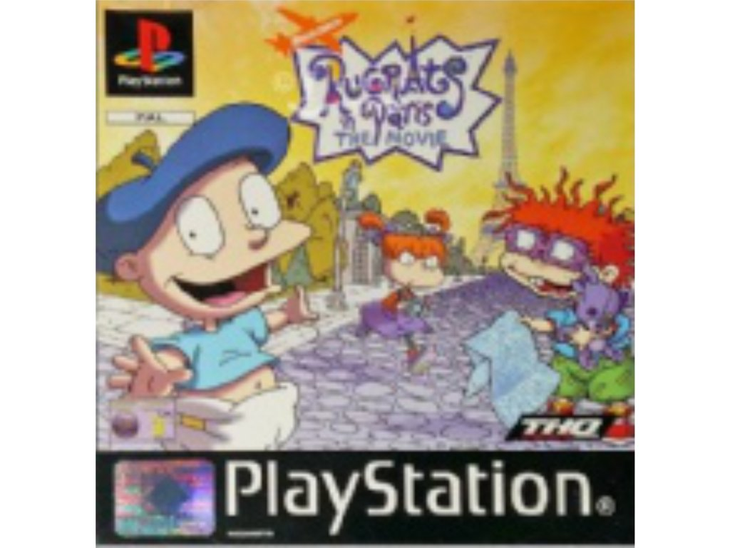 PS1 Rugrats in Paris The Movie