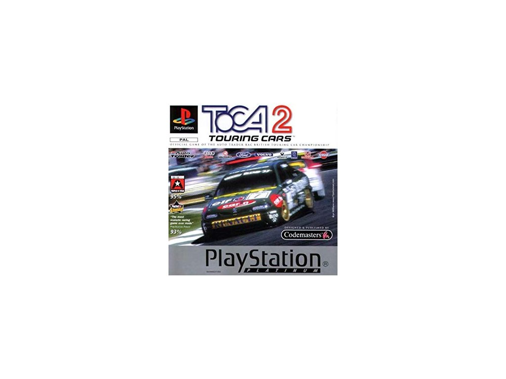 PS1 TOCA 2 Touring Cars Platinum