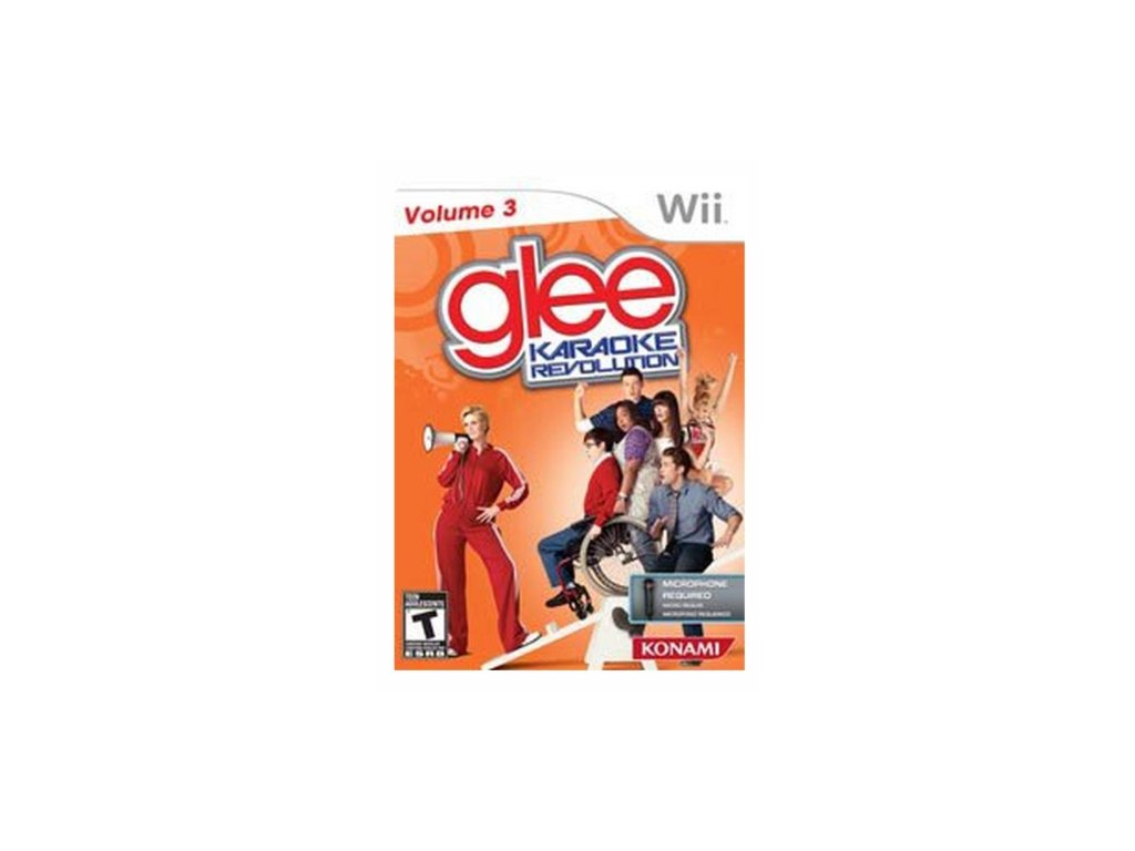 wii Karaoke Revolution Glee Volume 3