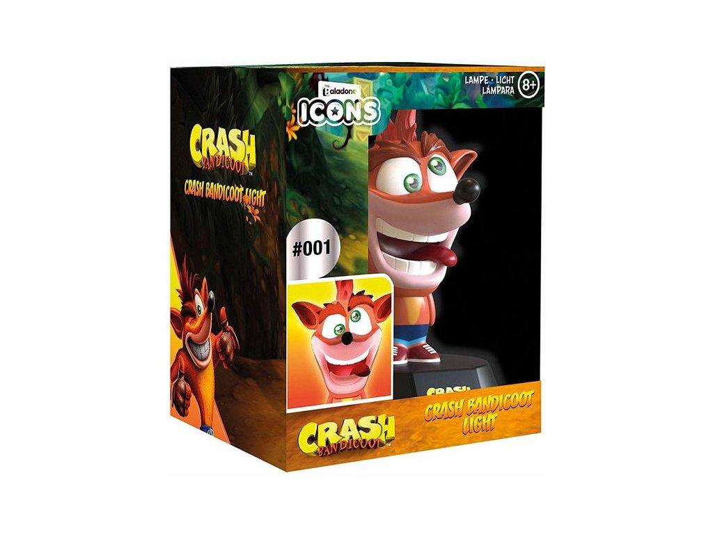 3D lampa Crash Bandicoot