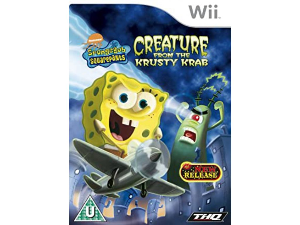 Wii SpongeBob SquarePants Creature from the Krusty Krab