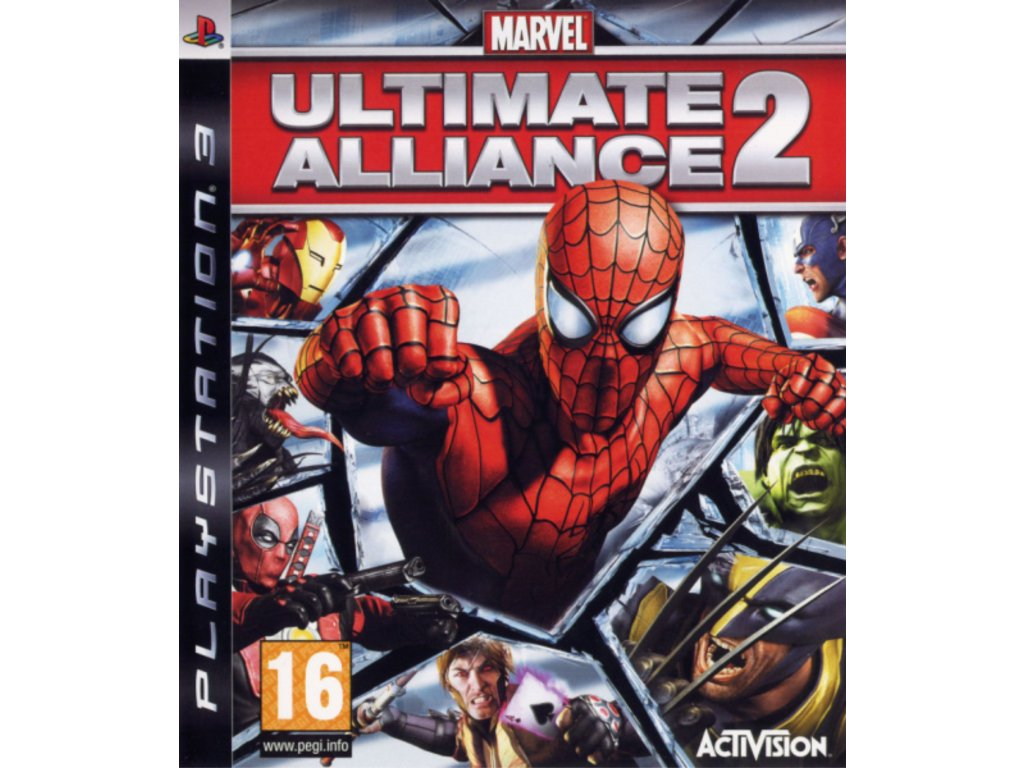 PS3 Marvel Ultimate Alliance 2